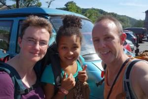 Met Ummi in Ardennen
